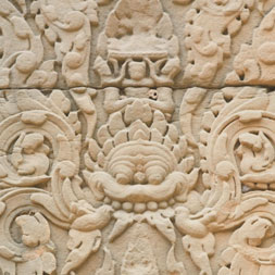 Banteay Thom Carving